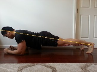 plank exercise with serratus anterior