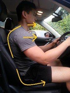 bad car posture