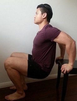 stretch for rounded shoulders