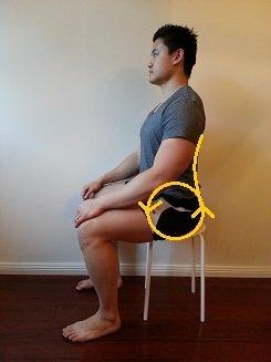 tilt in sitting