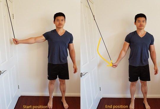 subacromial bursitis exercises