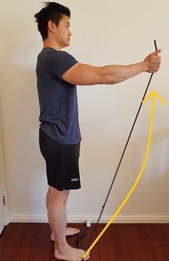 resistance band shoulder impingement exercises