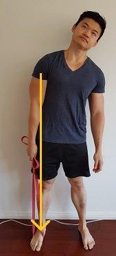 shoulder traction exercise for shoulder impingement