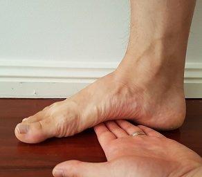 test for flat feet (pes planus)