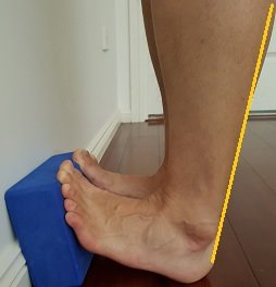 calf stretch for pes planus