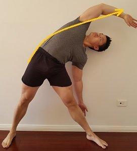 upper quadratus lumborum stretch