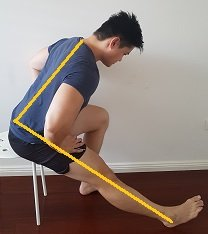 hamstring stretches  posture direct