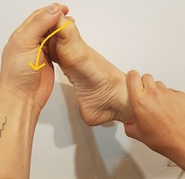 lateral ankle stretch