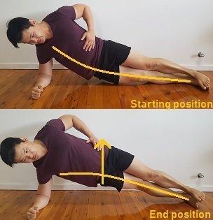 glute medius strengthening exercise