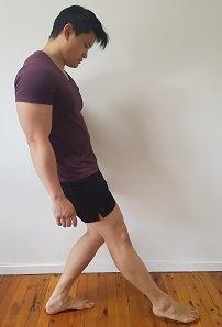 advanced single leg exercise for clicking knees