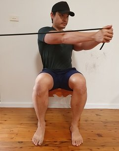 lumbar rotation strengthening exercise