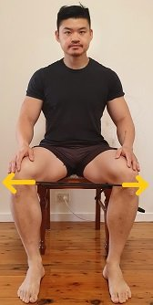 knee valgus squat