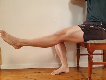 gentle exercise for clicking knee