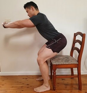 sit to stand squat